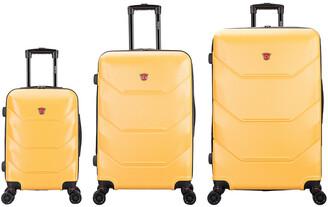 Dukap Zonix Hardside 3Pc Luggage Set