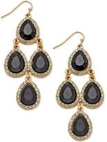 INC International Concepts Teardrop Chandelier Earrings, Created for Macy's