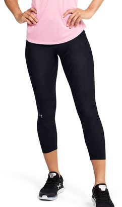 Under Armour Women's UA Fly Fast Jacquard Crop