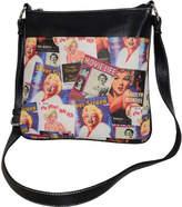 Monroe Marilyn Forever Beautiful Collage Messenger Bag MM611 (Women's)