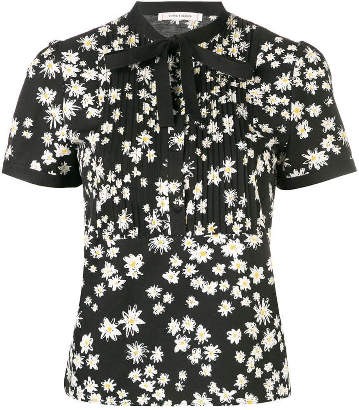 fc56931ffa00ad Black Floral Blouse - ShopStyle