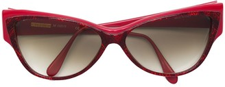 Missoni Pre-Owned Patterned Cat-Eye Sunglasses