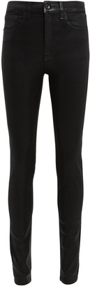 Rag & Bone Coated High-Rise Skinny Jeans