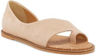 Lucky Brand Falinda Leather Toe Loop Sandal