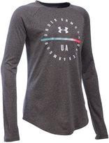 Under Armour UA TechTM Long-Sleeve Shirt, Big Girls (7-16)
