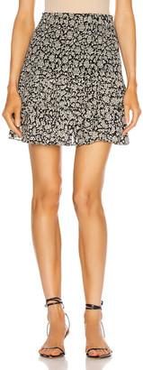 Etoile Isabel Marant Naomi Skirt in Black | FWRD
