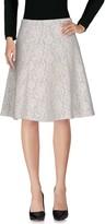 Blugirl Knee length skirts - Item 35337468