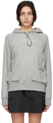 Nike Grey Sportswear Swoosh Hoodie