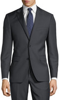 DKNY Slim-Fit Two-Button Solid Wool Suit
