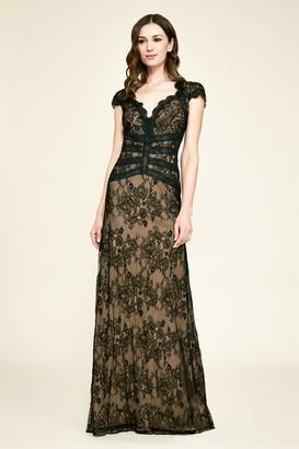Tadashi Shoji Swanson Lace Gown