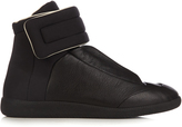 Maison Margiela Future high-top leather and neoprene trainers