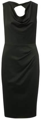 M&Co Cowl neck ruched pencil dress