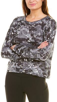 Terez Foil Printed Boxy Sweatshirt