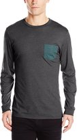 Volcom Men's New Twist Long Sleeve Pocket T-Shirt
