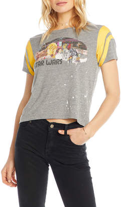 Chaser Star War Poster Cropped Tee