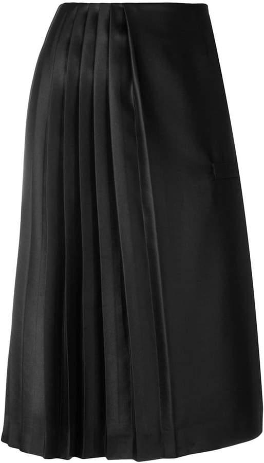 Marco De Vincenzo pleated midi skirt