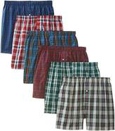 B.V.D. Men's Tartan Boxer (Pack of Six)
