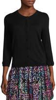 Kate Spade Women's Somerset Cotton 3/4 Sleeve Cardigan