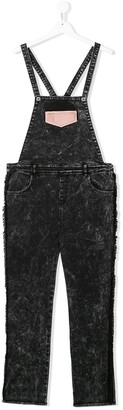 Andorine TEEN denim dungarees
