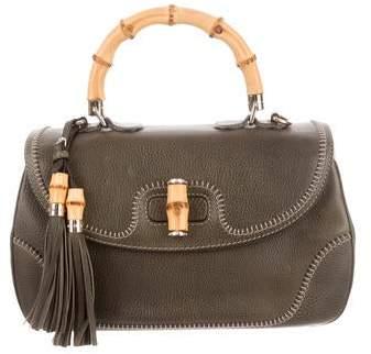 c6029a1b1a4 Gucci Bamboo Handle Handbag - ShopStyle
