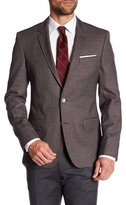 HUGO BOSS Hutsons Two Button Notch Lapel Trim Fit Jacket
