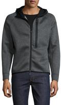 Moncler Zip Front Hooded Jacket