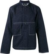 A.P.C. seaming detail denim jacket - men - Cotton - S