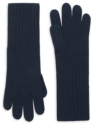 Saks Fifth Avenue Knit Cashmere Gloves