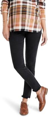 Madewell Maternity Adjustable Edition: Side-Panel Skinny Jeans