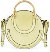 Chloé Pixie Small Round Double-Handle Shoulder Bag
