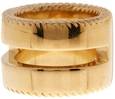 Cole Haan 12K Gold Plated Tout Ring - Size 7
