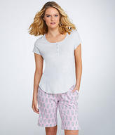 Karen Neuburger Early Bloom Bermuda Knit Pajama Set