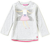 Joules Baby/Little Girls 12 Months-3T Fava Knit Babydoll Top