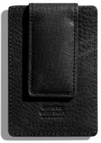 Shinola Money Clip Card Case - Black