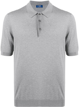 Barba Knitted Polo Shirt