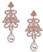 Nina Women's Swarovski Crystal Pear Drop Earrings