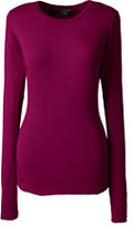 Classic Women's Thermaskin Natural Crewneck-Rich Red