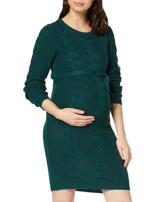 Mama Licious Mamalicious Women's Mlphine L/S Knit Abk Dress