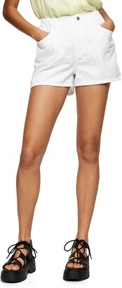 Topshop Sofia Beach Denim Shorts