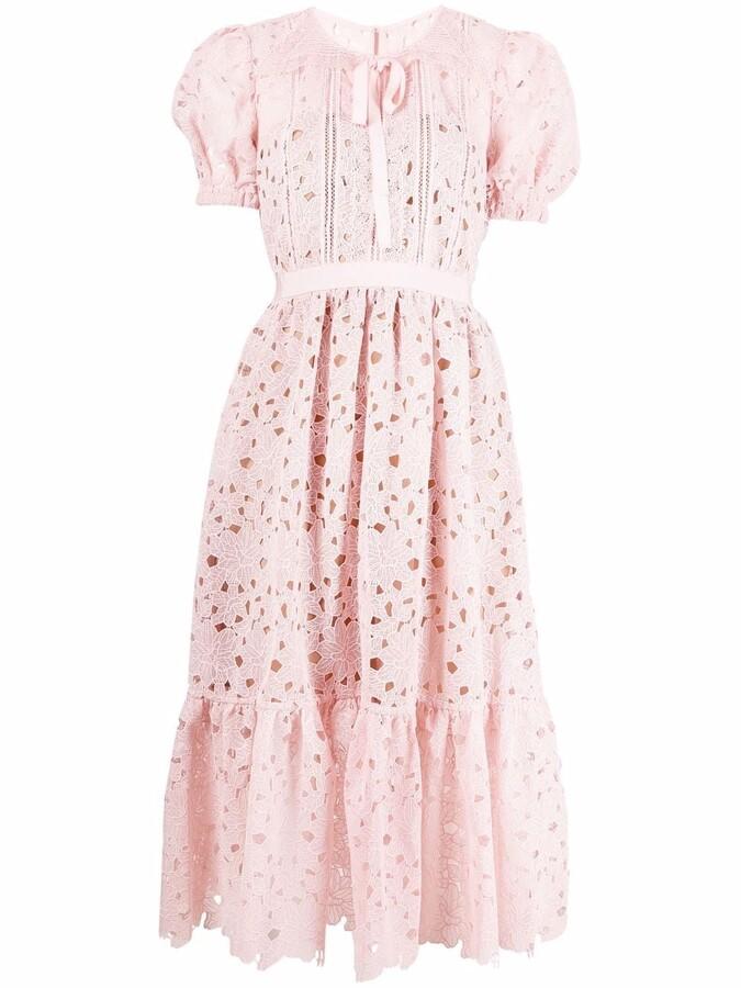 Thumbnail for your product : Self-Portrait Lace Midi Dress