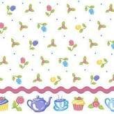 Olive Kids 4-piece Tea Party Full Sheet Set