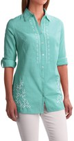 Nomadic Traders Kerala Shirt - Long Sleeve (For Women)