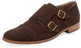 Original Penguin Broguing Double Monkstrap