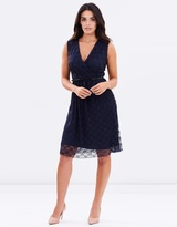 Dorothy Perkins Lace Belt Dress