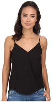 Brigitte Bailey Wrap Tank Top Blouse