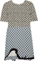Nesbitt printed crepe dress