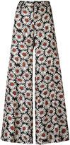 Alberto Biani floral print palazzo pants