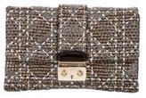 Christian Dior Metallic Woven Clutch