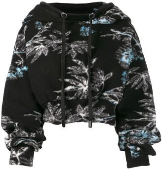 NO KA 'OI Cropped Knitted Hoodie