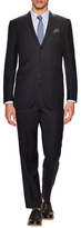 Ermenegildo Zegna Wool Solid Notch Lapel Suit